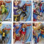 DC Super Hero Girls, des figurines articulées