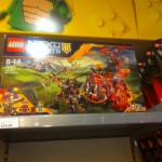 Dispo en France : Lego Nexo Knights,  Ever After High, Barbie et Star Wars