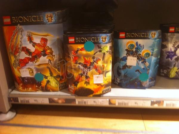solde -30% sur Lego bionicle
