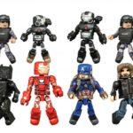 Marvel Minimates : Captain America Civil War et greatest hits
