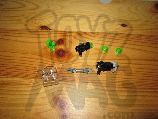 LEGO 76044 accessoires