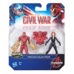 Des figurines Miniverse Captain America : Civil War