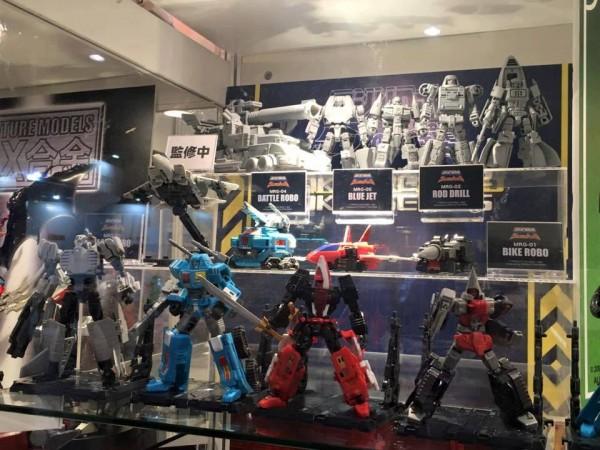 jouets 2015 2016 Machine Robo: Revenge of Cronos  Machine Robo: Chronos no Dai Gyakushū   La Revanche des Gobots ACTION TOYS