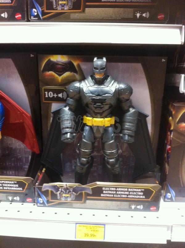 figurines Mattel Batman V Superman electroniques