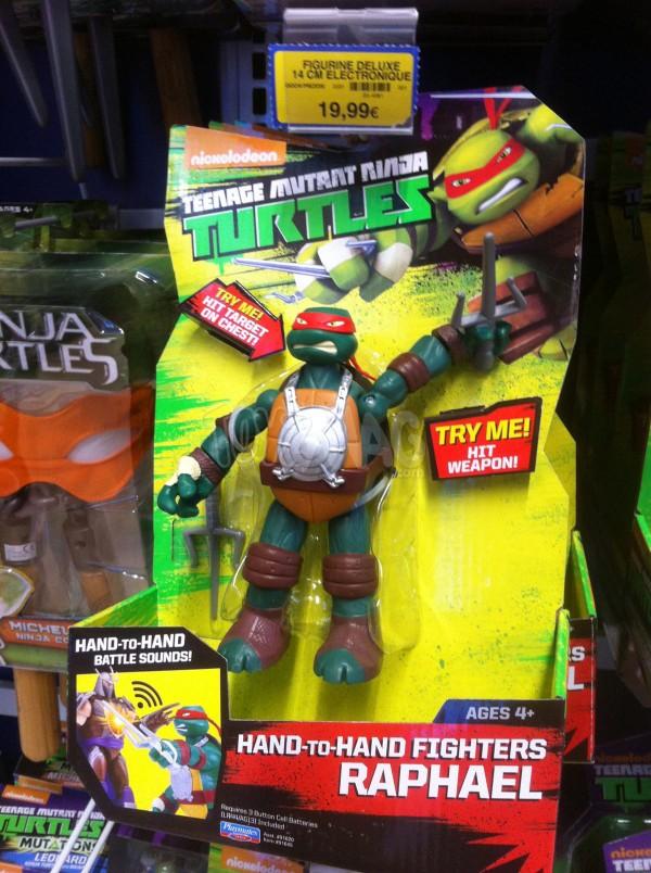 figurines deluxe tortue ninja