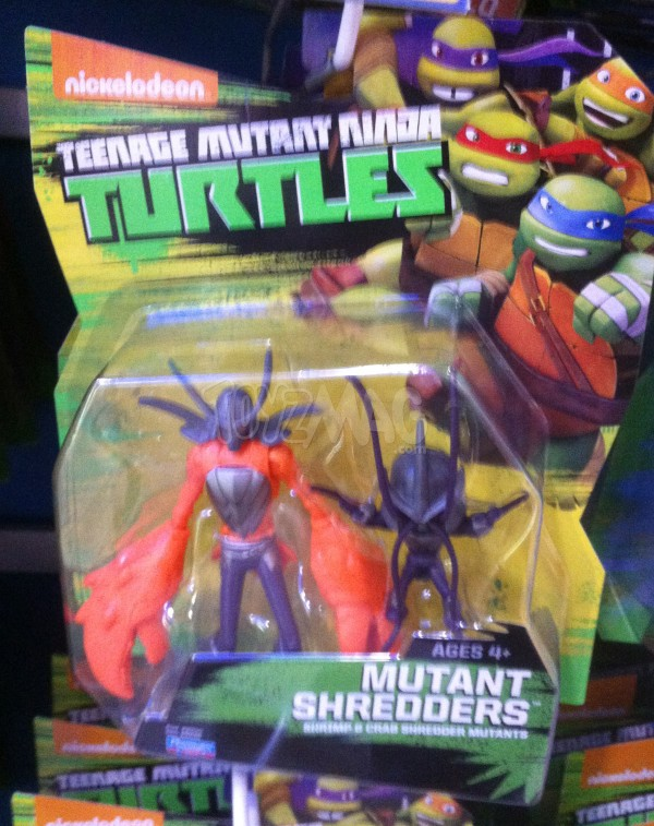 Mutant Shredders figurine Tortues Ninja