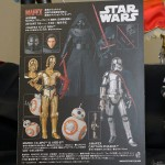 Star Wars TFA – Mafex Kylo Ren, BB-8, 3PO et Phasma