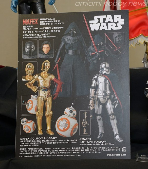 MAFEX-Star-Wars-TFA-KyloRen-Phasma-C3PO-BB8