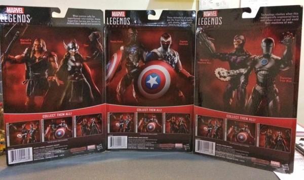 Marvel Legends 2016 Secret Wars Comic Pack