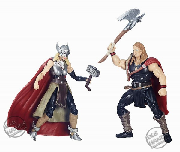 Toy Fair 2016 Hasbro Marvel Legends 3.75 inch Action Figure 2 pack Defenders of Asgard