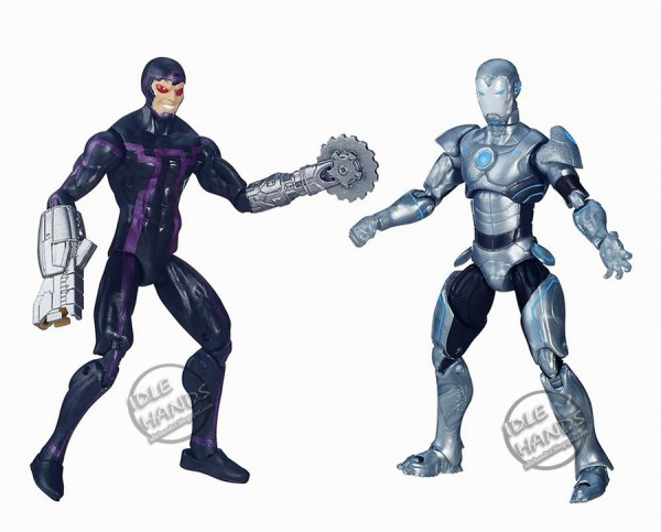 Toy Fair 2016 Hasbro Marvel Legends 3.75 inch Action Figure 2 pack Mechanical Masters
