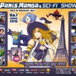 Paris Manga & Sci-Fi Show 21e ouvre ses portes demain