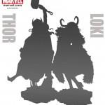 WonFest2016 : Bishoujo de Kotobukiya : kill bill, Chuky, Thor Loki