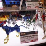 BU TOYS expose ses jouets  Super Durand, Tekkaman et Casshern