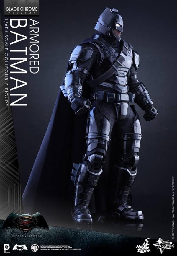 Batman v Superman : Batman Black Chrome par Hot Toys