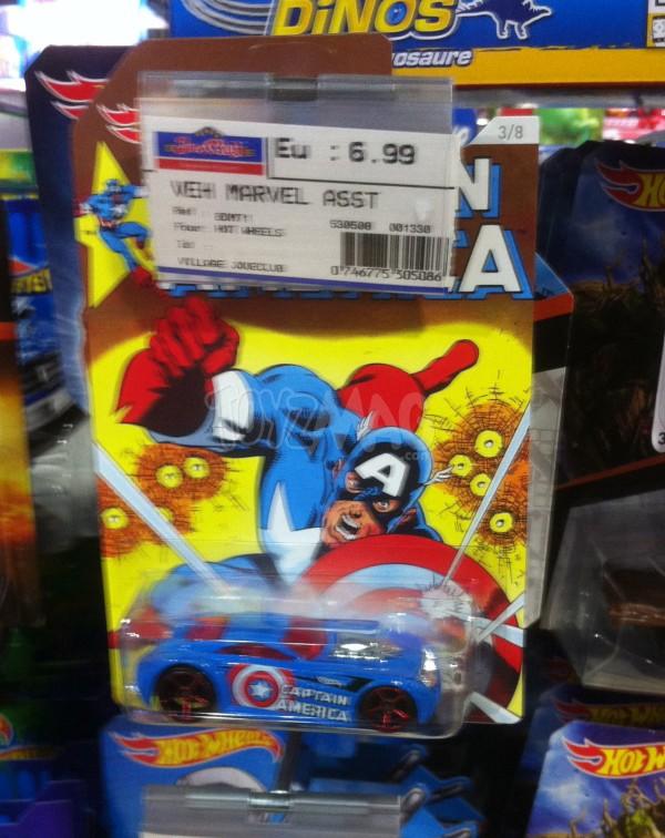 Hot Wheels : Captain America
