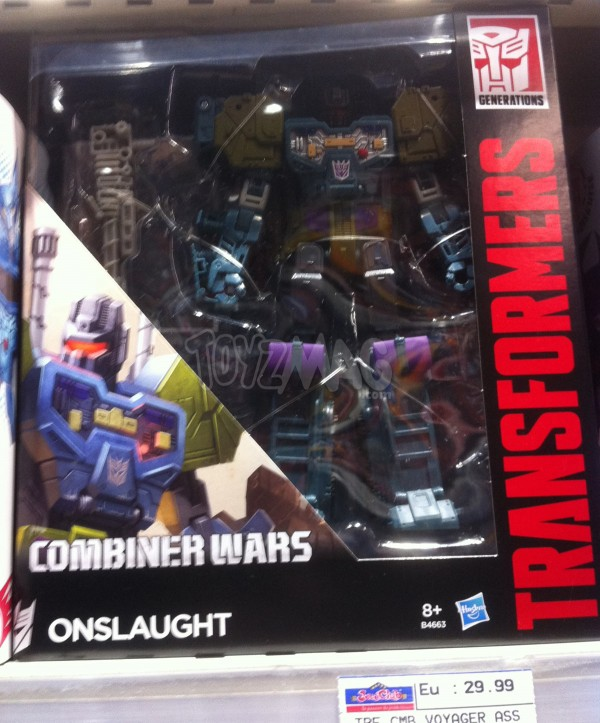Onslaught Transformers Combiner Wars