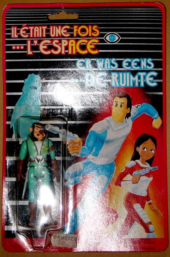 LE TEIGNEUX 10cm PVC en blister POPY Il était une fois...l'espace