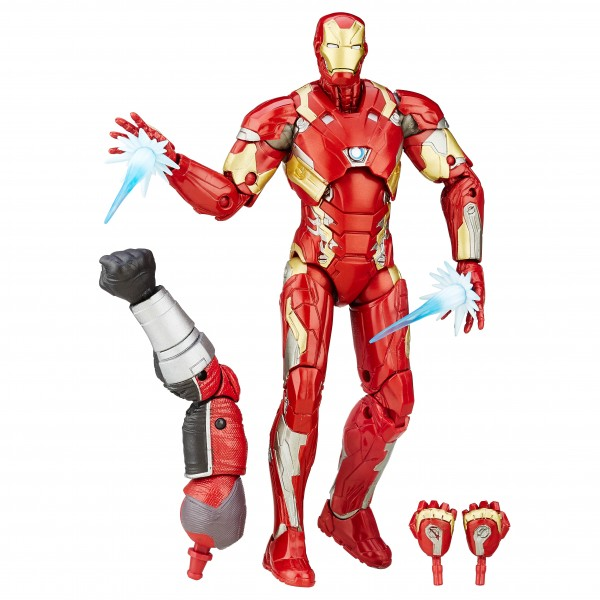 Marvel Legends Captain America Civil War IRON MAN mark 46