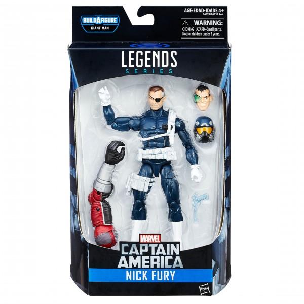 Marvel Legends Captain America Civil War NICK FURY V1