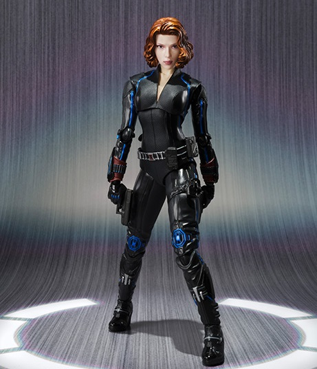 s.H.Figuarts Black Widow Age Of Ultron Tamashii Nations