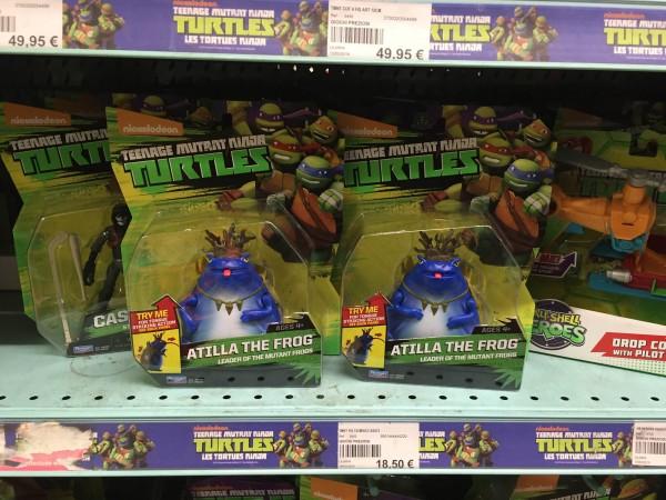 figurine tortues ninja TMNT Atilla The Frog
