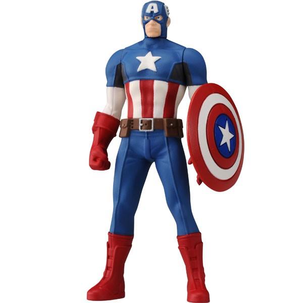 Avengers Metal Colle CAPTAIN AMERICA TAKARA TOMY