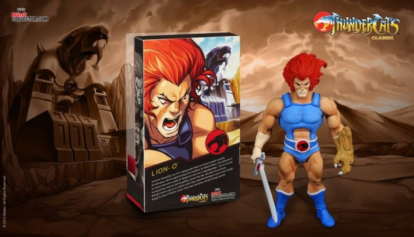 Mattel Thundercats classics LionO Stalion Packaging thid earth club 2016