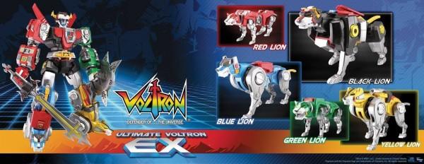 Ultimate Voltron EX par  Toynami