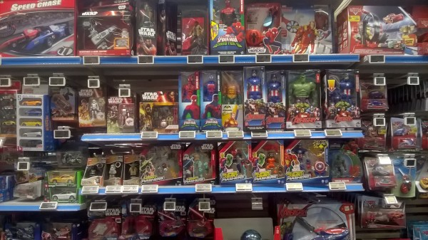 Auchan rayon disney marvel star wars haut