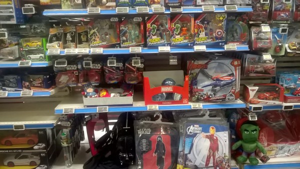 Auchan rayon disney marvel star wars bas