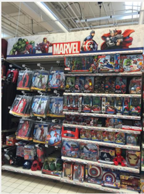 Auchan Aubagne Disney Marvel