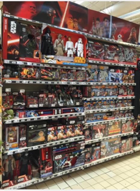 Auchan Aubagne Disney Star Wars