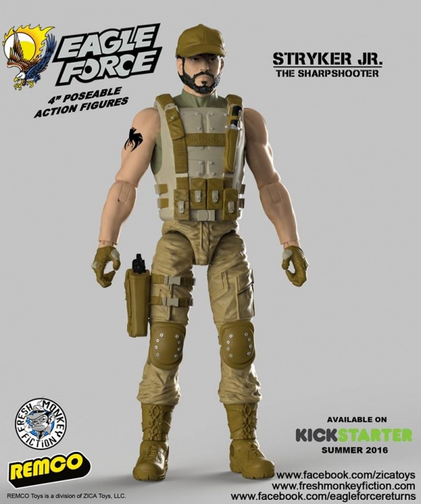 eagle force return Stryker Jr.