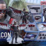 Civil War : Falcon par Hot Toys