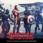 Civil War : figurines Hot Toys de Crossbones & Black Widow