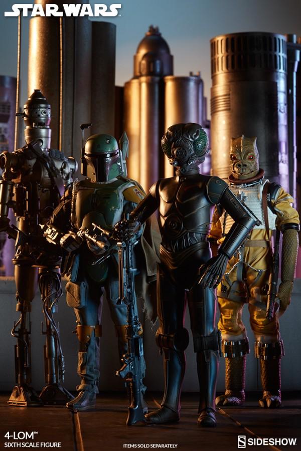 4-LOM star wars 1/6 Sideshow Collectibles