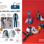 Toyz'presse Lego Simpsons dans le Figaro, Captain America dans le Parisien