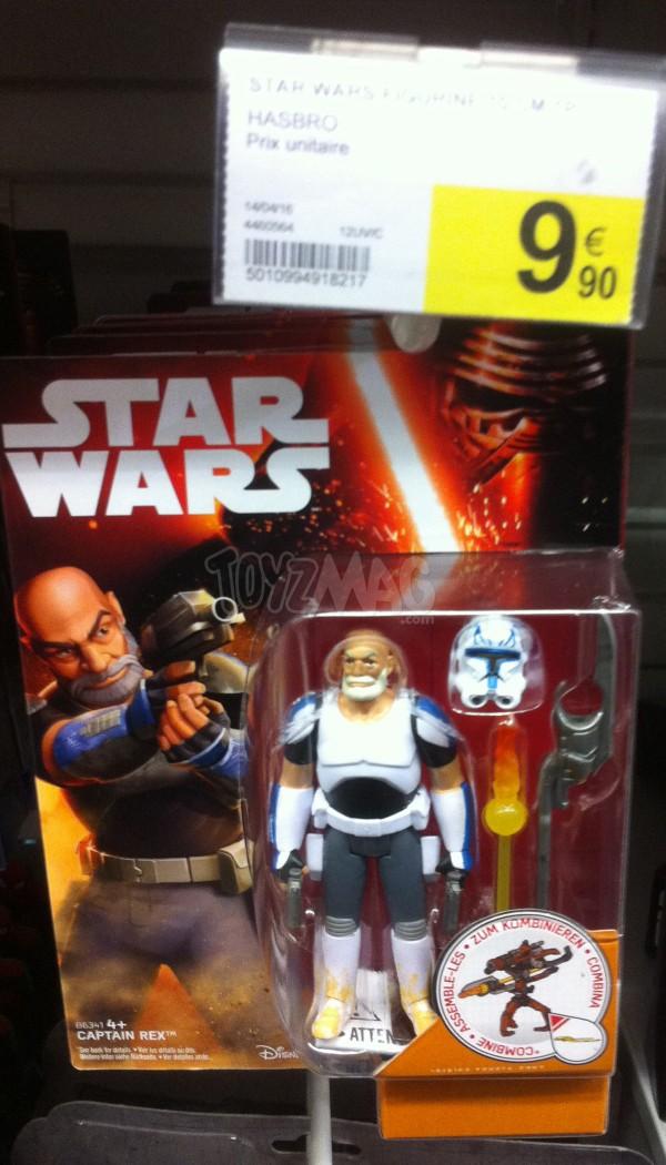 figurines REX Star Wars le reveil de la Force TFA