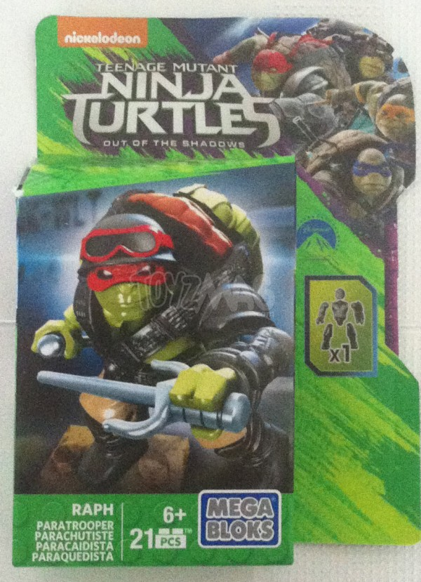 MEGA BLOKS Ninja Turtles 2 teenage Mutant Ninja Turtles: Out of the Shadows