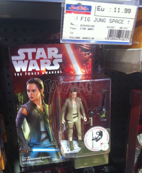 figurine jouet REY star Wars VII