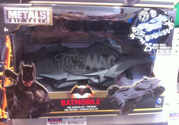 batmobile Batman v Superman die cast model