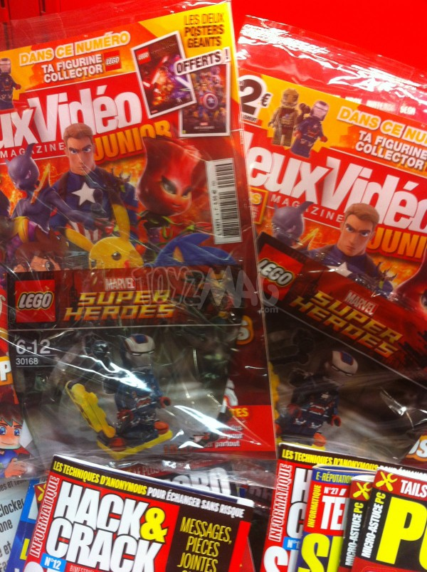 Lego mini-figurines Iron Patriot
