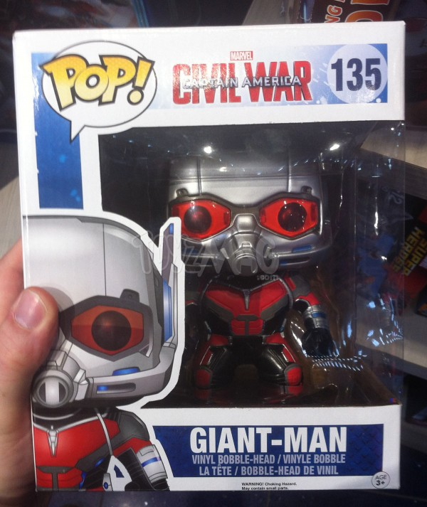 captain america civil war Marvel select Disney store POP funko