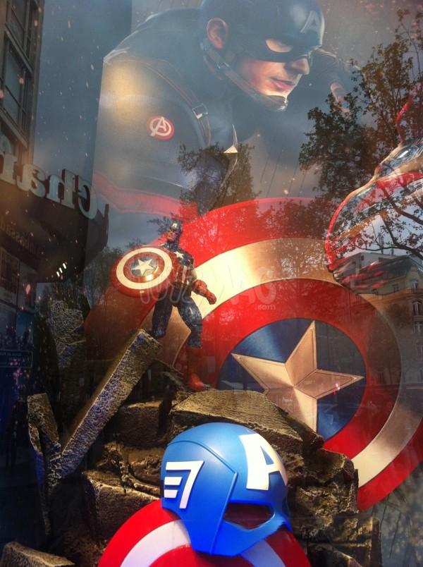 captain america civil war Marvel select Disney store POP funko