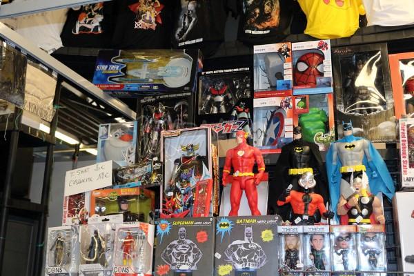 du vintage  jouets figurines toys Paris Comics Expo 2016