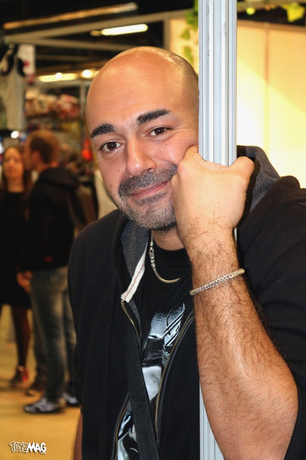 germain palmero au Paris Comics Expo 2016
