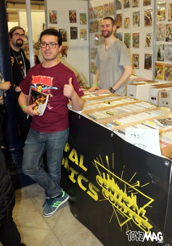 Central Comics au Paris Comics Expo 2016