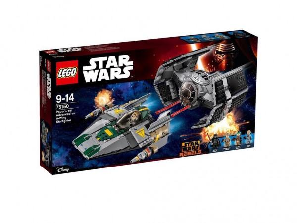 Lego Star Wars 75150 Vader's Tie Advenced vs A-wing Starfighter