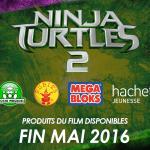 Une date pour la sortie française des jouets Ninja Turtles 2
